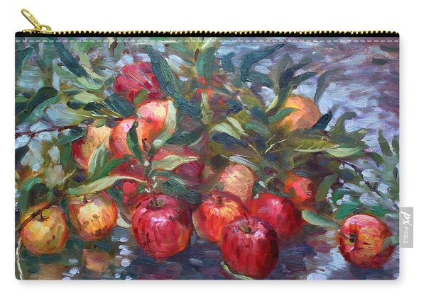 Apple Harvest At Violas Garden Carry-all Pouch