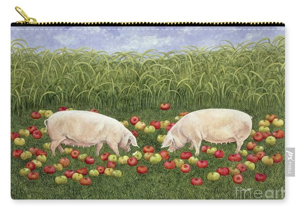Apple Sows Carry-all Pouch
