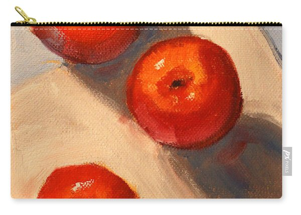 Apple Trio Still Life Carry-all Pouch