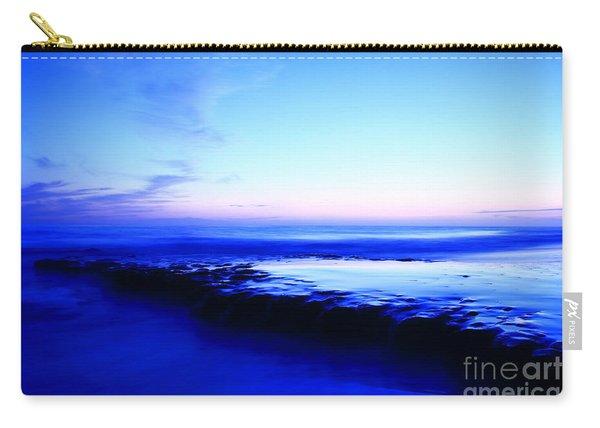 Swamis Beach Sunset Carry-all Pouch