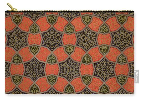 Arabic Decorative Design Carry-all Pouch