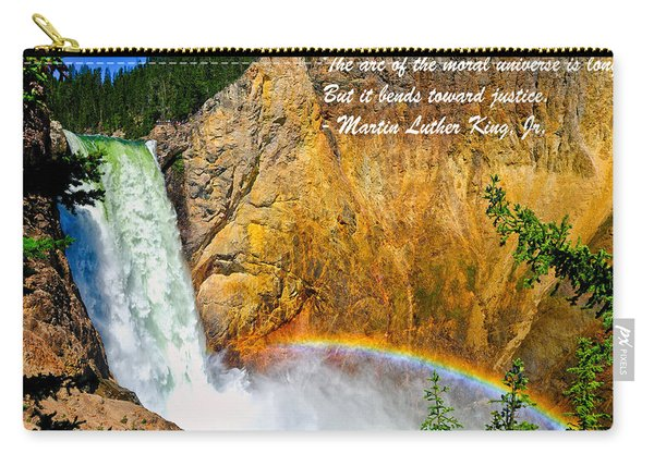 Arc Of The Moral Universe Carry-all Pouch