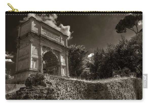 Arch Of Titus Carry-all Pouch