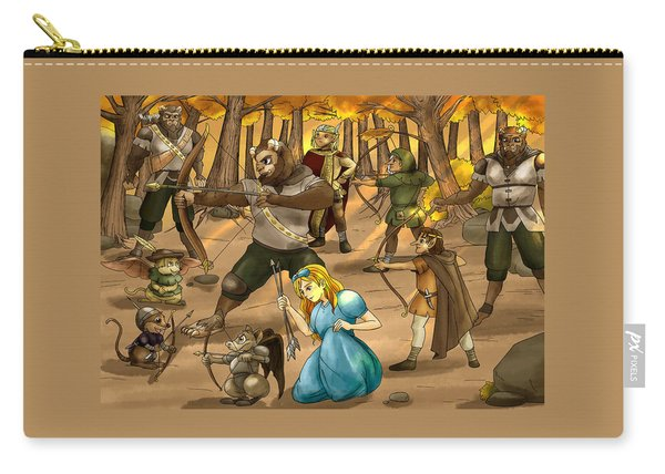 Archery In Oxboar Carry-all Pouch