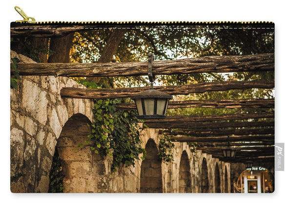 Arches At The Alamo Carry-all Pouch