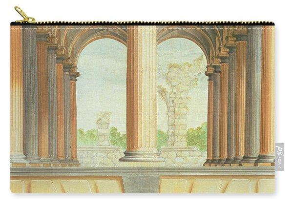 Architectural Capriccio Carry-all Pouch