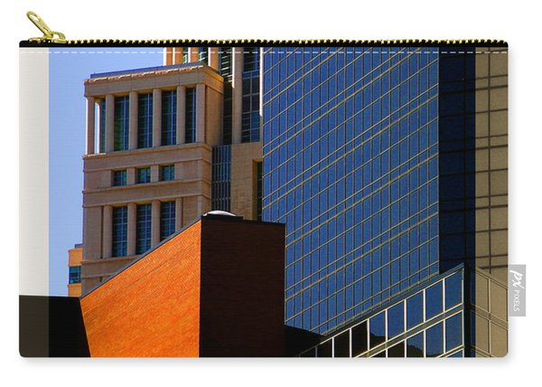Architectural Stone Steel Glass Carry-all Pouch