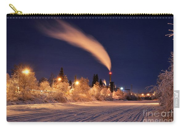 Arctic Power At Night Carry-all Pouch