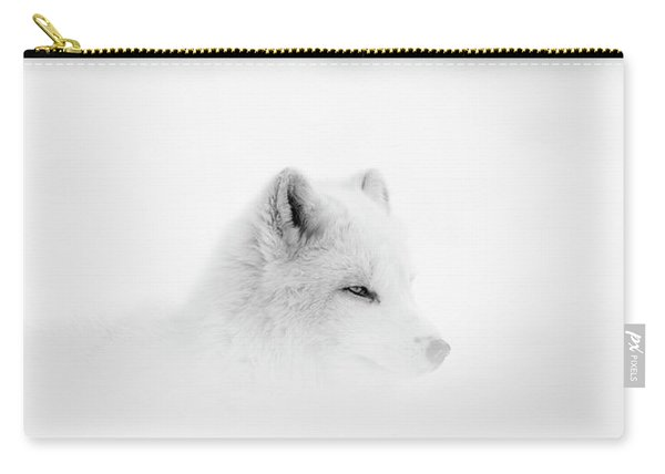 Arctic Wolf  Canis Lupus Arctos Carry-all Pouch