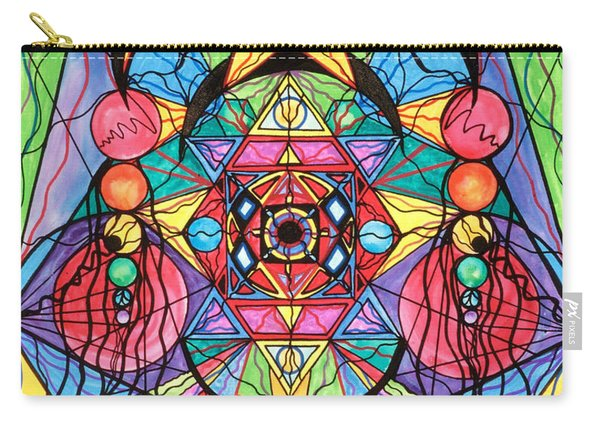 Arcturian Ascension Grid Carry-all Pouch