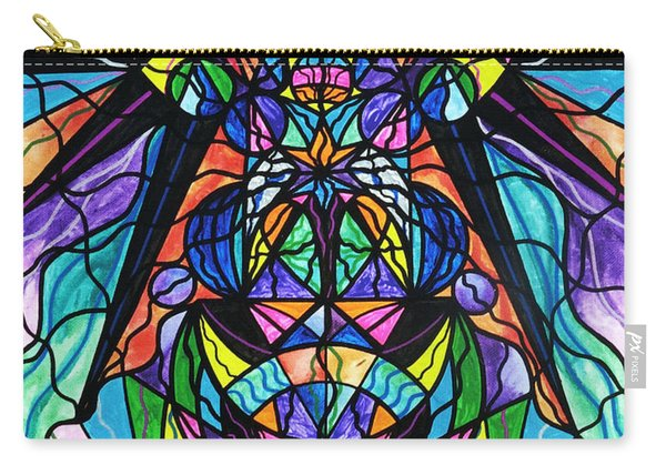 Arcturian Awakening Grid Carry-all Pouch