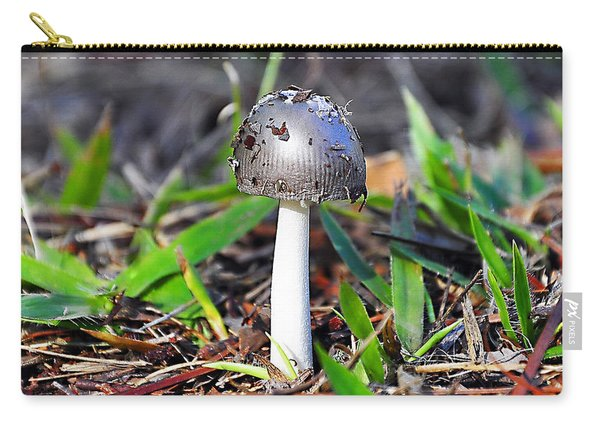 Argent Amanita Carry-all Pouch