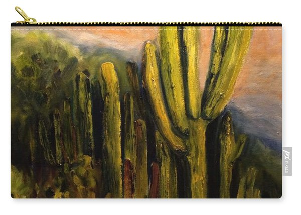 Arizona Desert Blooms Carry-all Pouch