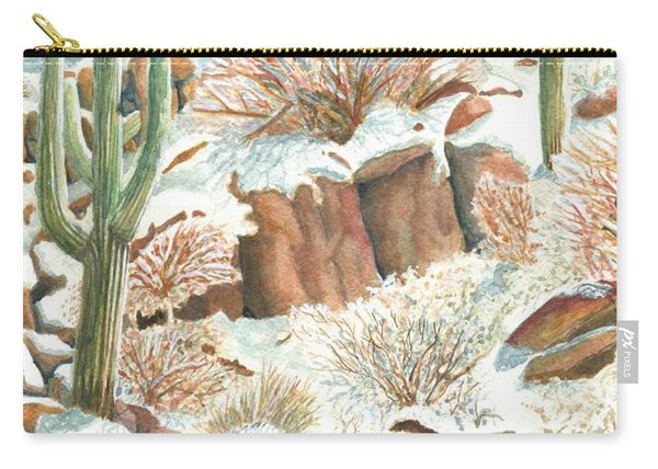 Arizona The Christmas Card Carry-all Pouch