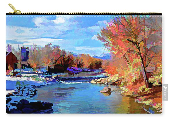 Arkansas River In Salida Co Carry-all Pouch