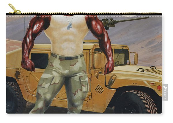 Arkansas Soldier Carry-all Pouch