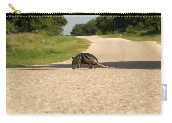 Armadillo Crossing Street Carry-all Pouch