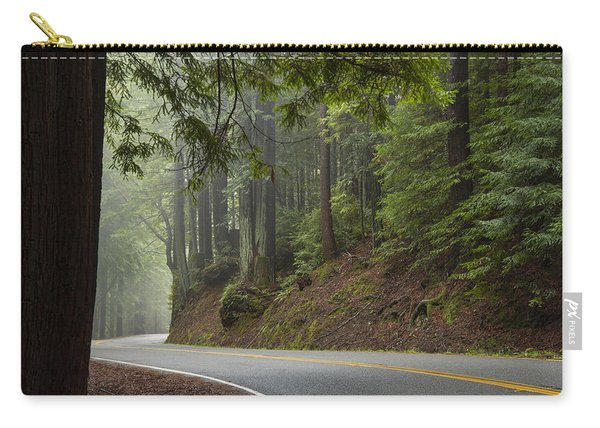 Carry-all Pouch featuring the photograph Around The Bend by Dustin  LeFevre
