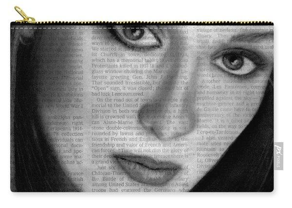 Art In The News 34- Meryl Streep Carry-all Pouch