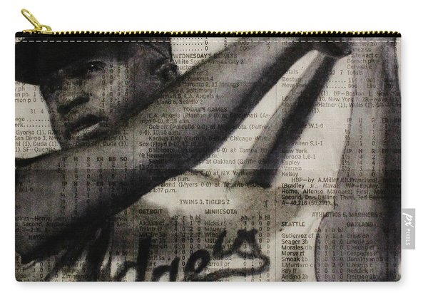 Art In Thenews 16-jackie Carry-all Pouch