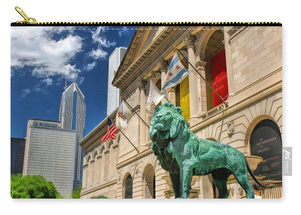 Art Institute In Chicago Carry-all Pouch