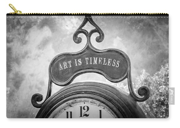 Art Is Timeless Carry-all Pouch