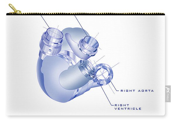 Artificial Heart Carry-all Pouch