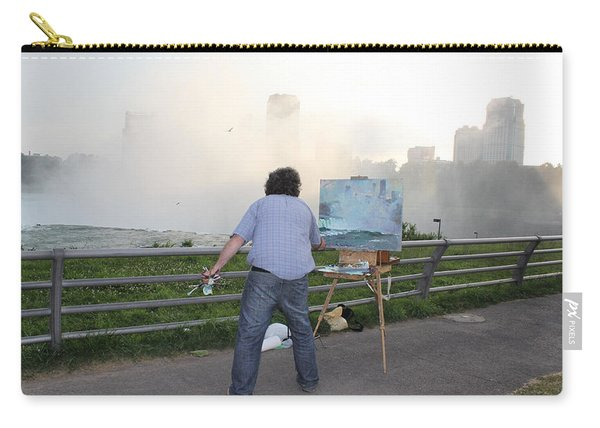 Artist At Work Niagara Falls Ny Carry-all Pouch