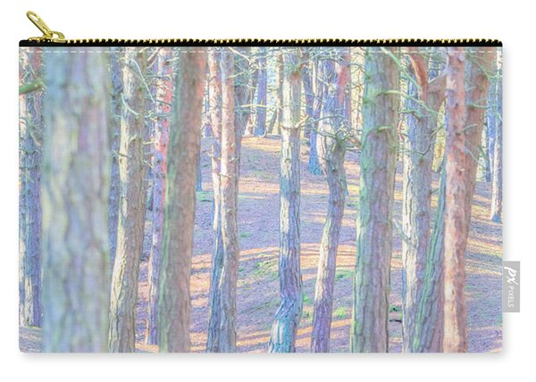 Carry-all Pouch featuring the photograph Artistic Trees by Susan Leonard