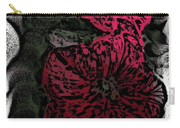 Artsy Petunias Carry-all Pouch