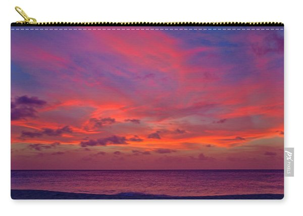 Aruba Sunset Carry-all Pouch