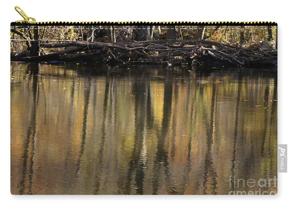 As Through A Leafless Landscape Flows A River Carry-all Pouch