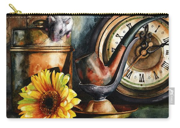 As Time Goes By Carry-all Pouch