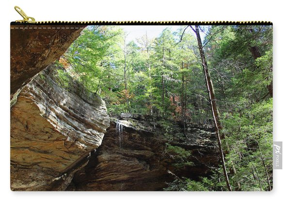 Ash Cave Of The Hocking Hills Carry-all Pouch