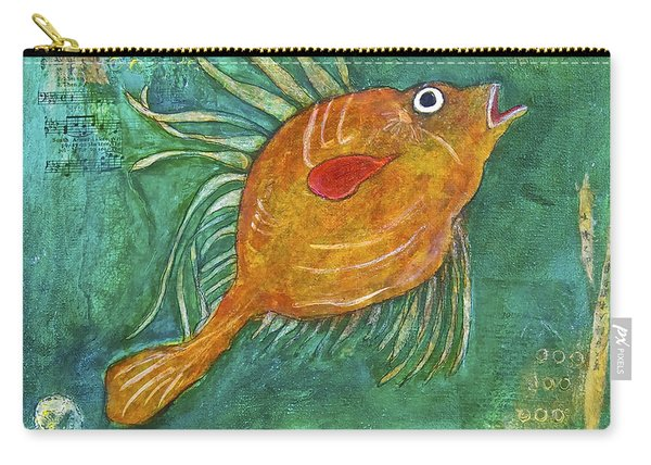 Asian Fish Carry-all Pouch