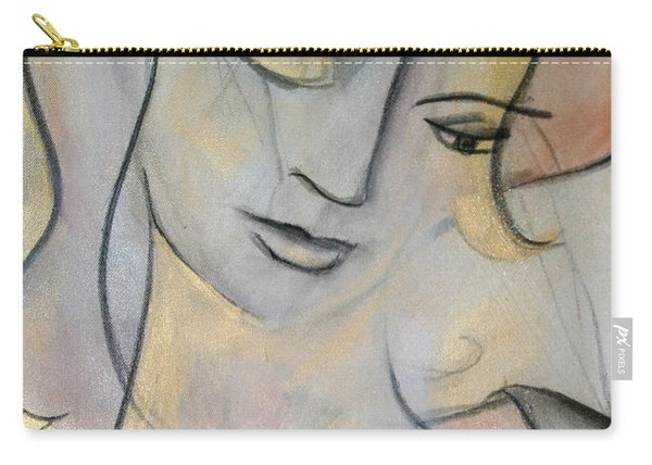 Asleep In The Golden Choker Of Dreams Carry-all Pouch