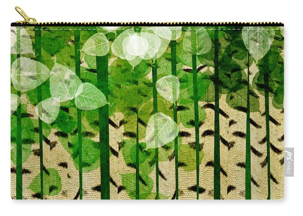 Aspen Colorado Abstract Square 2 Carry-all Pouch
