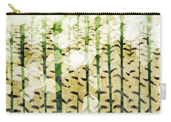 Aspen Colorado Abstract Square 3 Carry-all Pouch