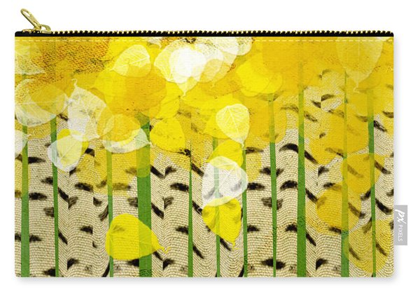 Aspen Colorado Abstract Square Carry-all Pouch