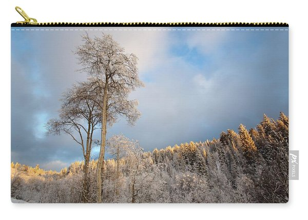 Aspen In Blue Carry-all Pouch