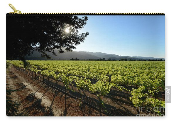At The Vineyard Carry-all Pouch