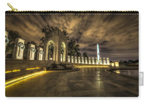 Atlantic Side Of The World War II Memorial Carry-all Pouch