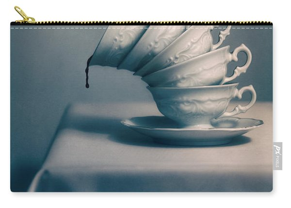 Carry-all Pouch featuring the photograph Attention  by Jaroslaw Blaminsky