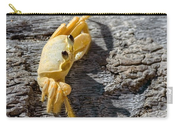 Carry-all Pouch featuring the photograph Attitude by Garvin Hunter
