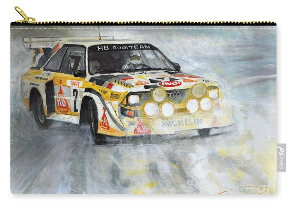 1985 Audi Quattro S1 Carry-all Pouch