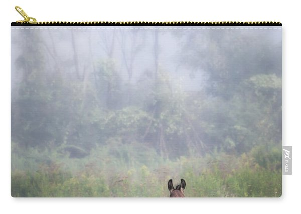August Morning - Donkey In The Field. Carry-all Pouch