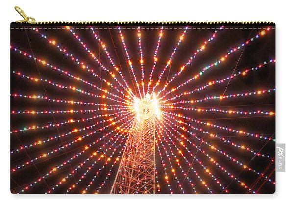 Austin Texas Trail Of Lights  Carry-all Pouch