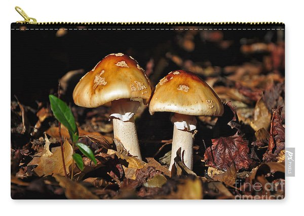 Autumn Amanitas Carry-all Pouch