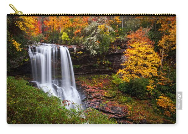 Autumn At Dry Falls - Highlands Nc Waterfalls Carry-all Pouch
