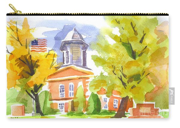 Autumn At The Courthouse Carry-all Pouch